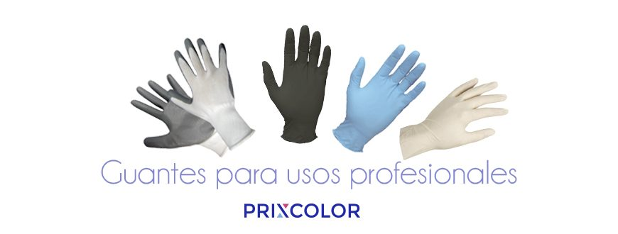 Guantes uso profesional